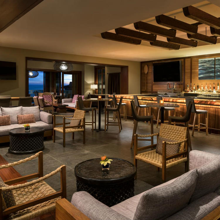 alaloa lounge at ritz carlton kapalua - maui happy hours