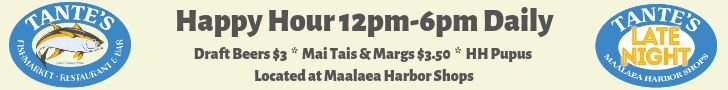 tantes maui happy hour banner ad 2 - 728x90