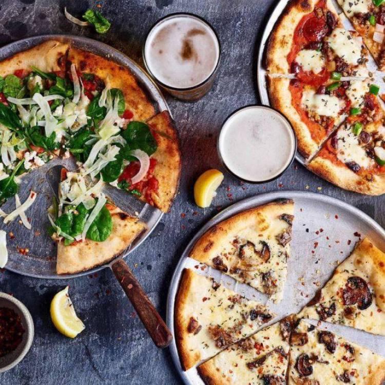 Happy Hour Pizzas at Monkeypod Maui 2021