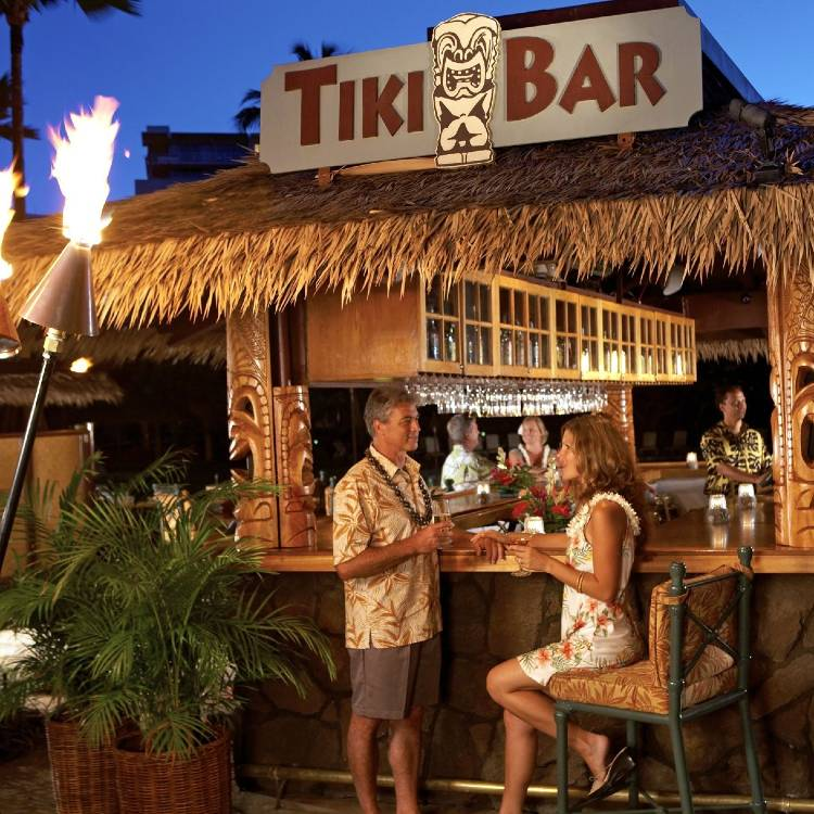 Tiki Bar & Grill Kaanapali Maui Hawaii