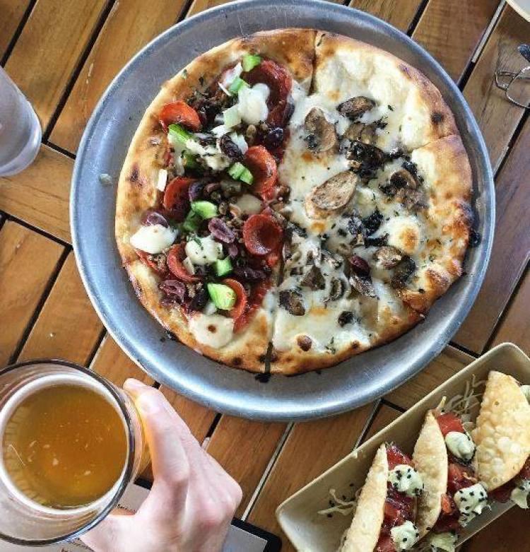 Monkeypod Wailea Happy Hour Pizza