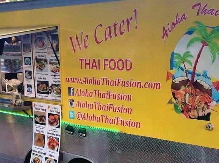 Thai Food Truck Maui - Aloha Thai Fusion