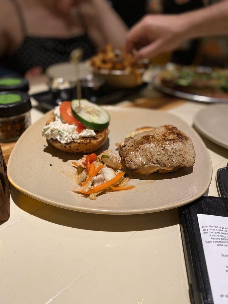 Fresh Fish Sandwich at Monkeypod Kitchen - Maui Happy Hours app