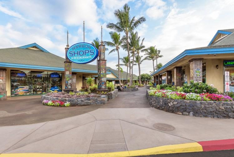 Maalaea Harbor Shops Maui