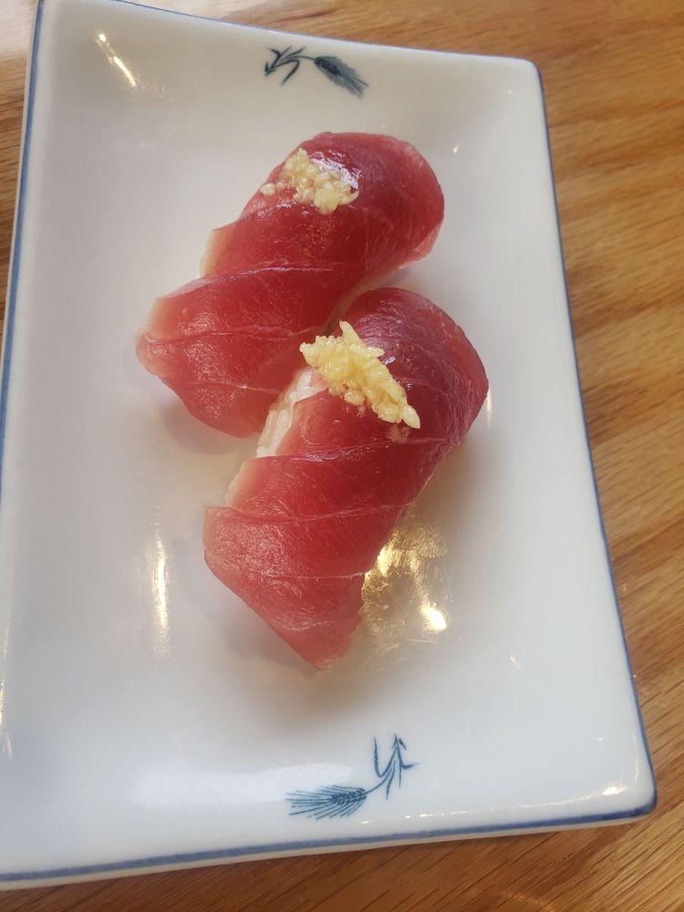 Isana Happy Hour Nigiri Rolls - Maui Japanese Restaurants