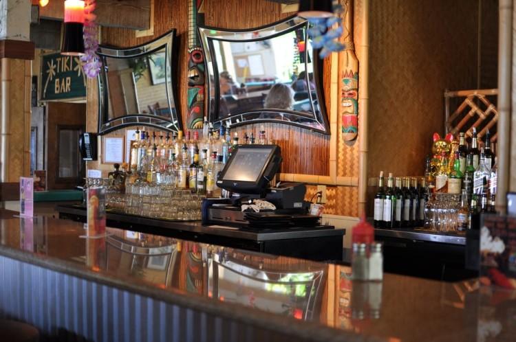 Bar at Betty's Lahaina Happy Hour