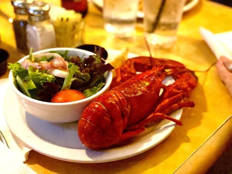 Lobster Night at Betty's Lahaina