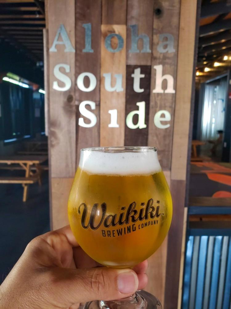 Waikiki Brewing South Side Happy Hour Wailea