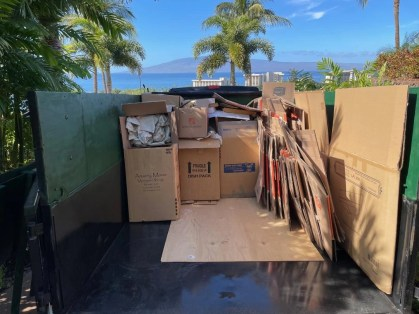 maui recycling pickup collection on maui