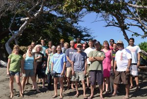 The employees for the Maui Invasive Species Committee, December 2013.