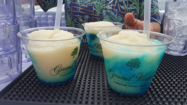 Free drinks grand wailea honu'ula luau