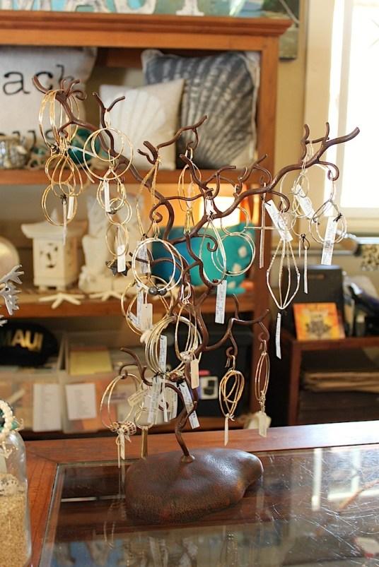 local jewelry fashion gold silver shells hula hoops maui hawaii