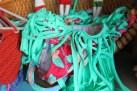 Green Fringe Bikini Bottom