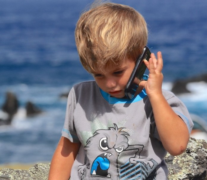 cell phone radiation children brains
