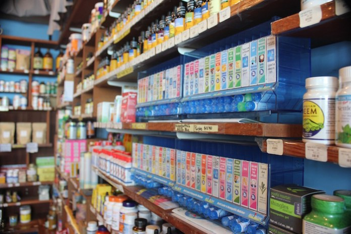 Homeopathics herbal remedies