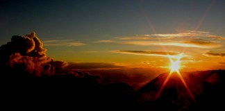 Haleakala sunset new opportunity