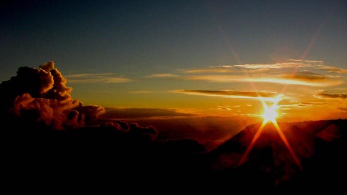 Haleakala sunset new opportunity