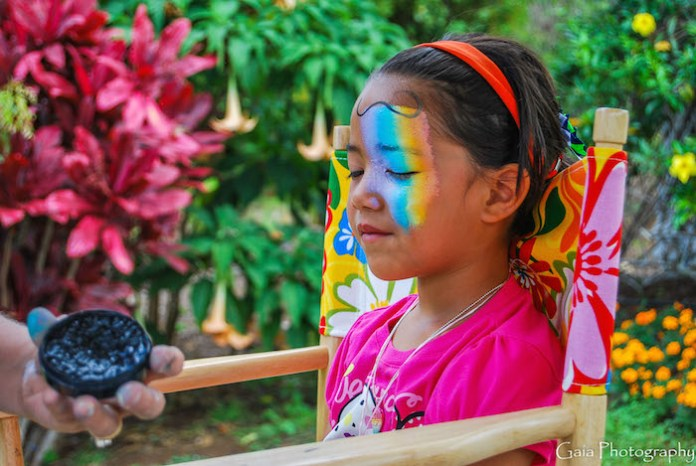 Maui face painting party professionals