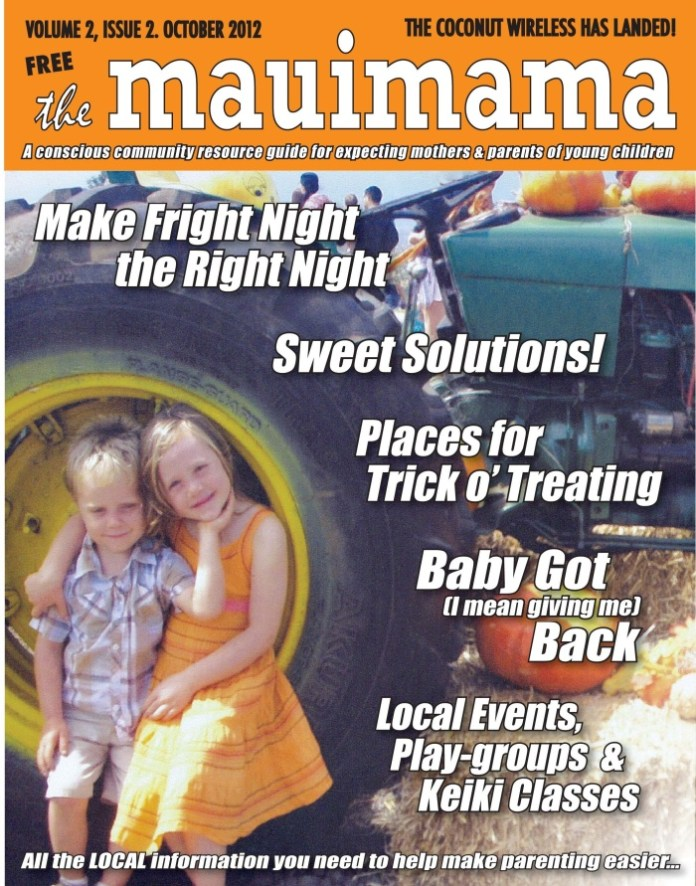 Mauimama front cover issue 14