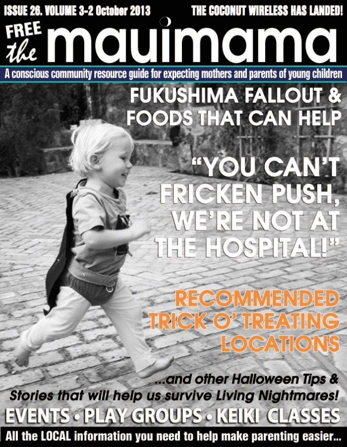 Mauimama front cover issue 26