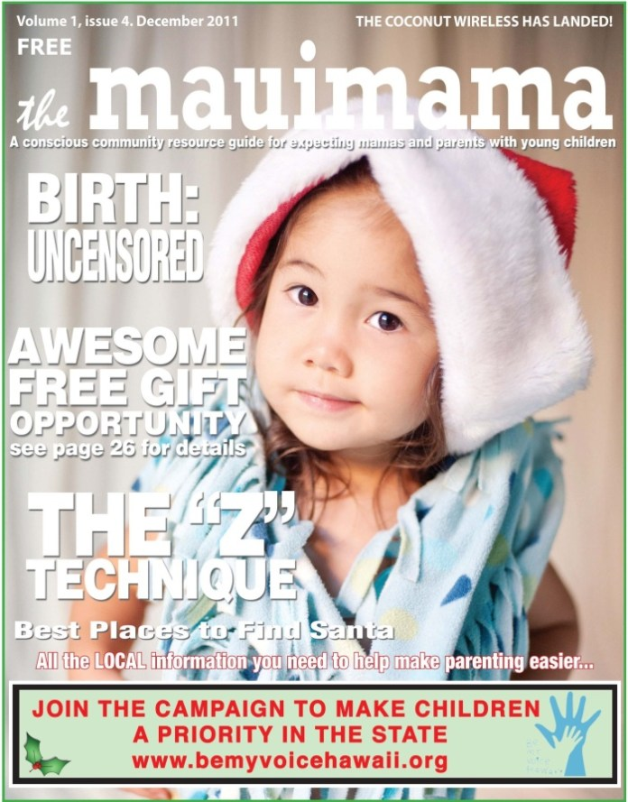 Mauimama front cover issue 4