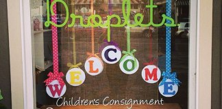 Droplets. Maui consignment children's
