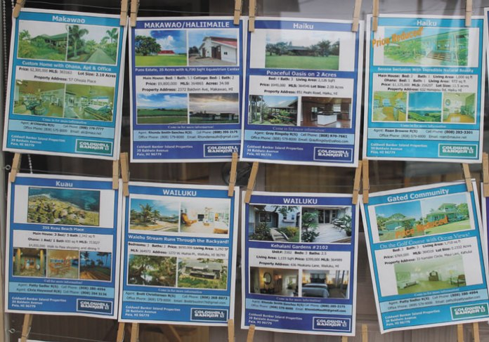 Maui real estate affordable housing
