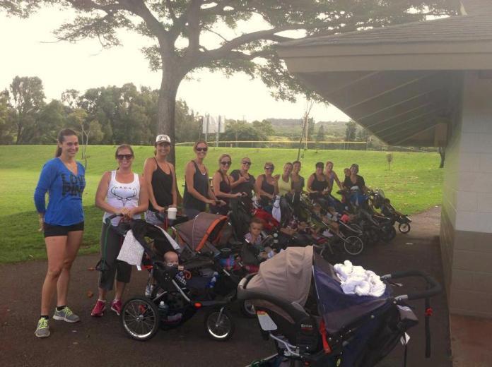 stroller strides West Maui