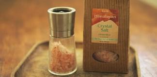Himalayan salt pink