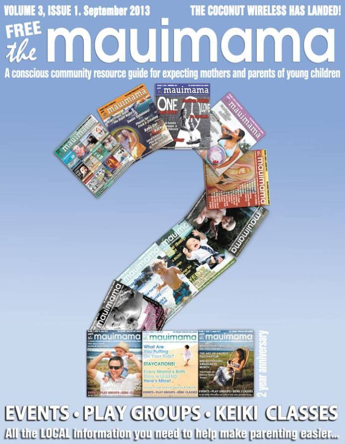 Mauimama front cover issue 25