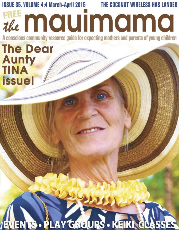 Mauimama front cover issue 35