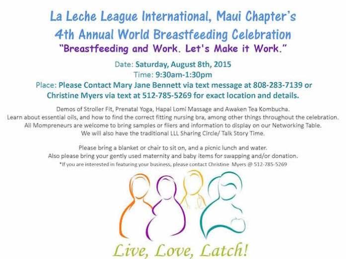 annual breastfeeding Celebration