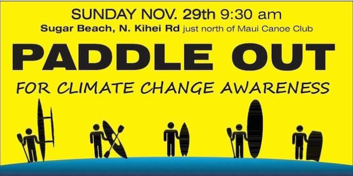 paddle out Maui