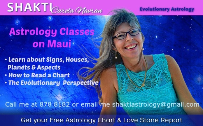 Maui Astrology classes