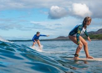 Maui Surfer Girl
