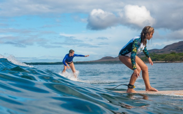 Maui Surfer Girl