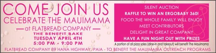 Mauimama fundraiser Flatbread