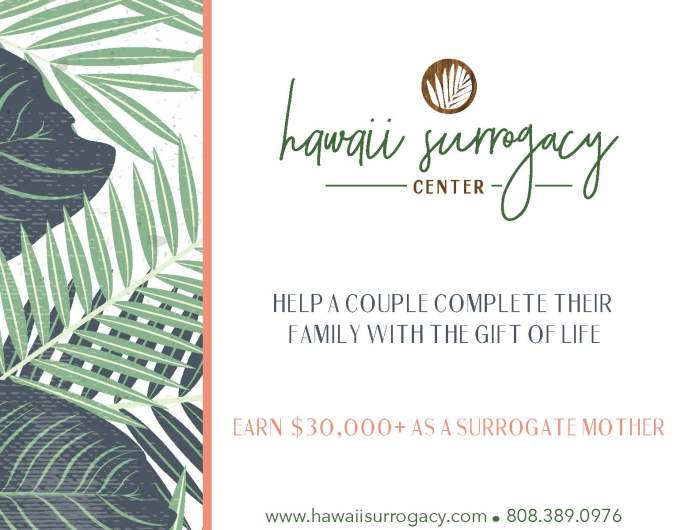 surrogacy hawaii maui
