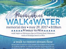 manawahine walk4water Maui