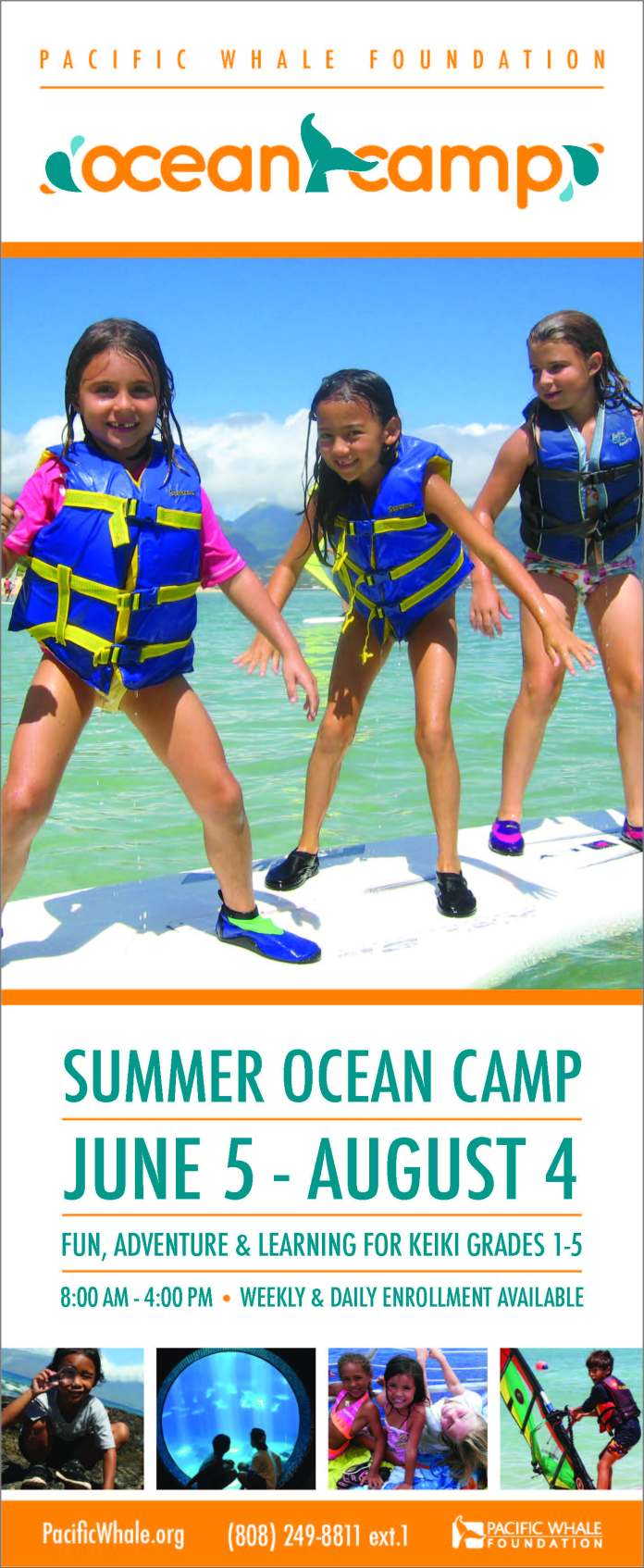 Summer camps Maui 2017