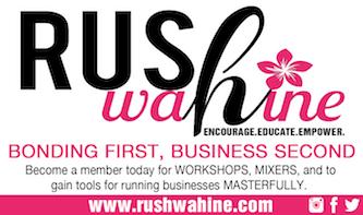 rushwahine women's business group Hawaii