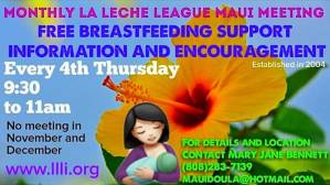 La Leche League International Maui Monthly Meeting