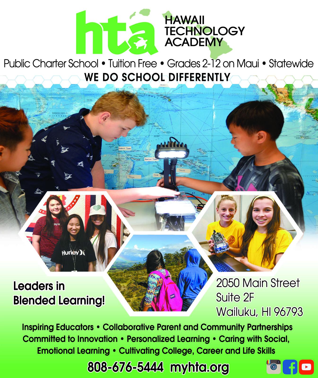 HTA charter school Maui