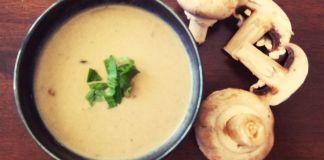 Vegan mushroom soup