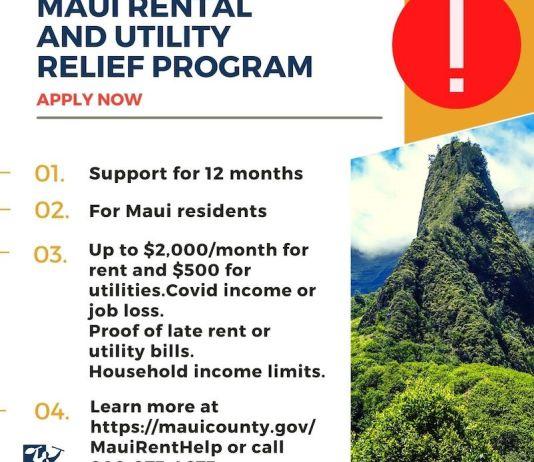 Maui emergency rental assistance