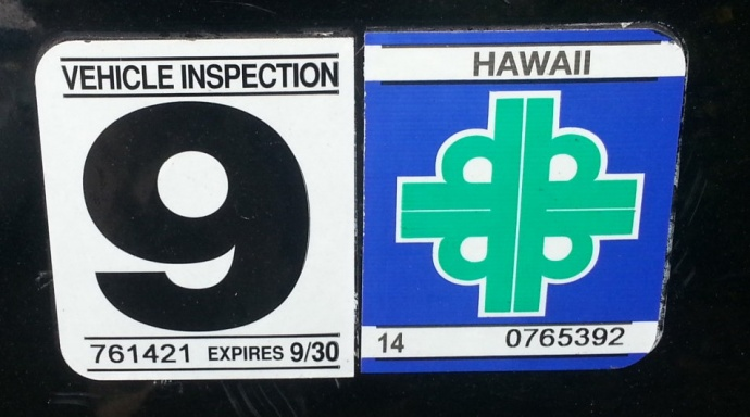 Car inspection sticker requirements 15