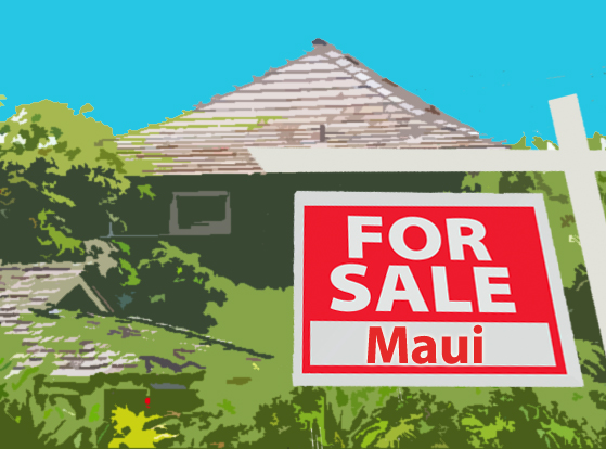Maui home sales. Maui Now image.