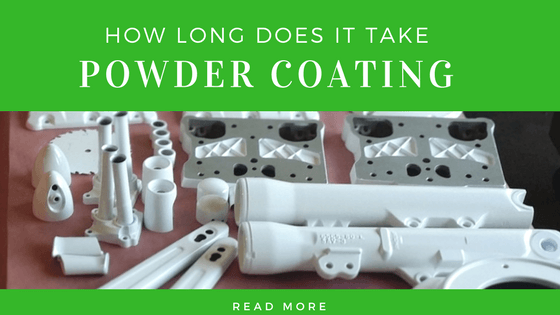 How long does it take for the powder coat to dry?