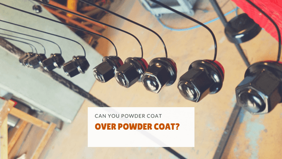 Can you powder coat over powder coat?