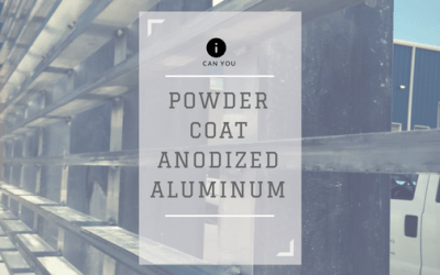 Can you powder coat over anodized aluminum?